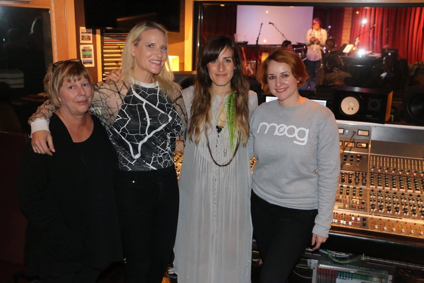 Karrie Keyes, Laura Alluxe Escudé, RYAT & Erin Barra