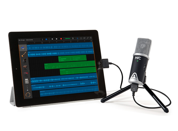 mic usb microphone for ipad mac apogee electronics. Black Bedroom Furniture Sets. Home Design Ideas