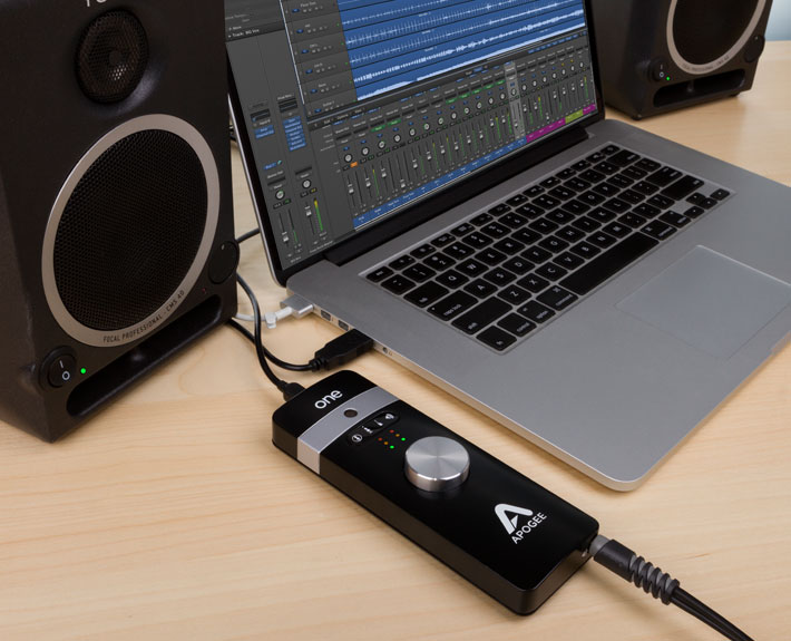 one for ipad mac usb audio interface apogee electronics. Black Bedroom Furniture Sets. Home Design Ideas