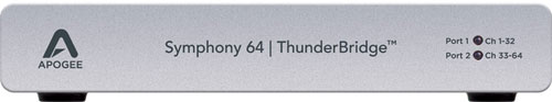 Apogee Symphony 64 | ThunderBridge