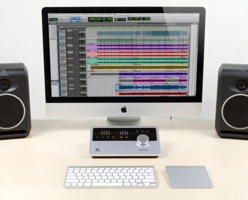 Apogee Quartet Recording on an iMac into ProTools