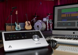 Apogee Quartet in the Studio