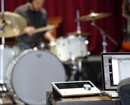 Quartet Tracking Drums
