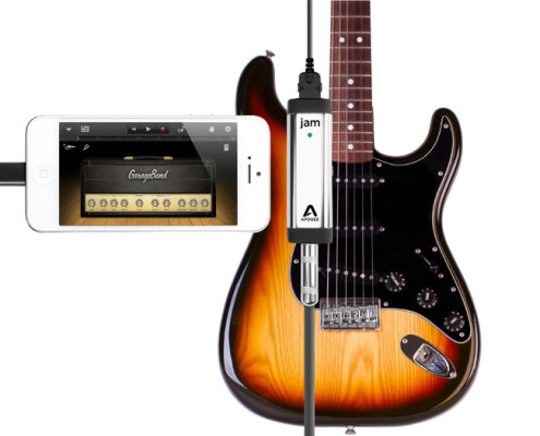 Professional quality guitar interface for iPhone, iPad, iPod touch and Mac