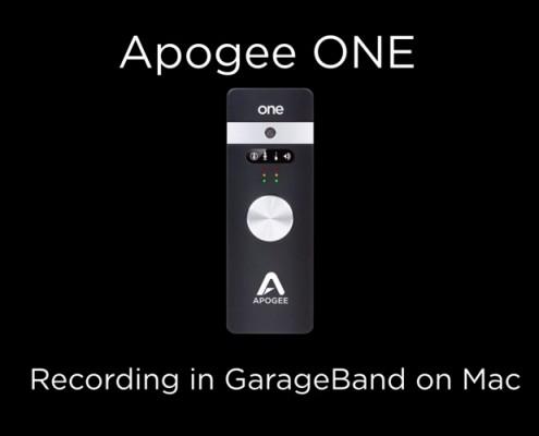Apogee ONE - GB on Mac