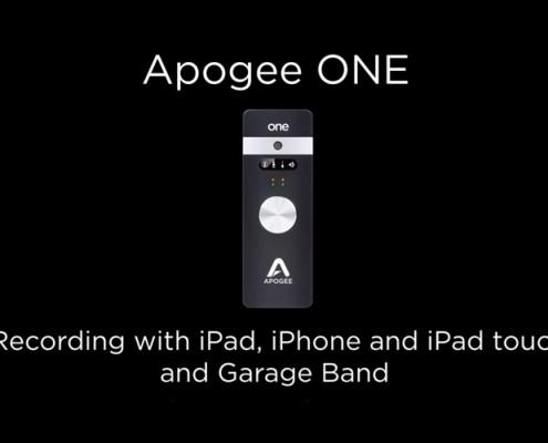 Apogee ONE - GB on iPad
