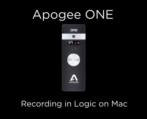 Apogee ONE - Logic 9
