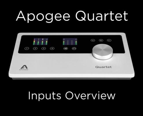 Quartet - Inputs