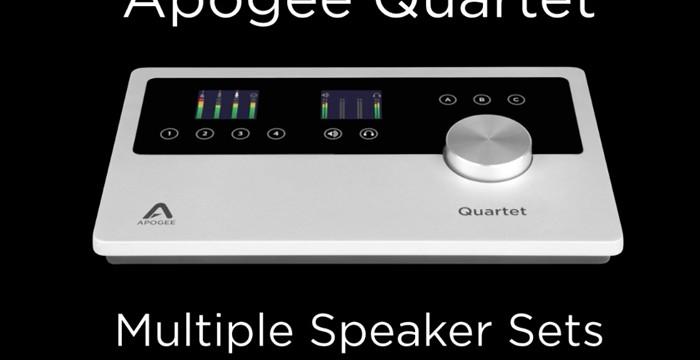 Quartet - Multiple Speaker sets