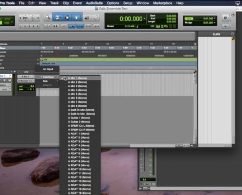 Ensemble - Pro Tools 11