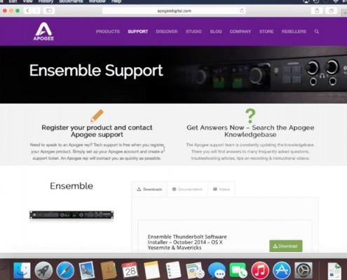 Ensemble - Software install