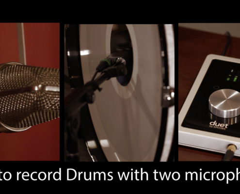 Recording Drums with Two Microphones