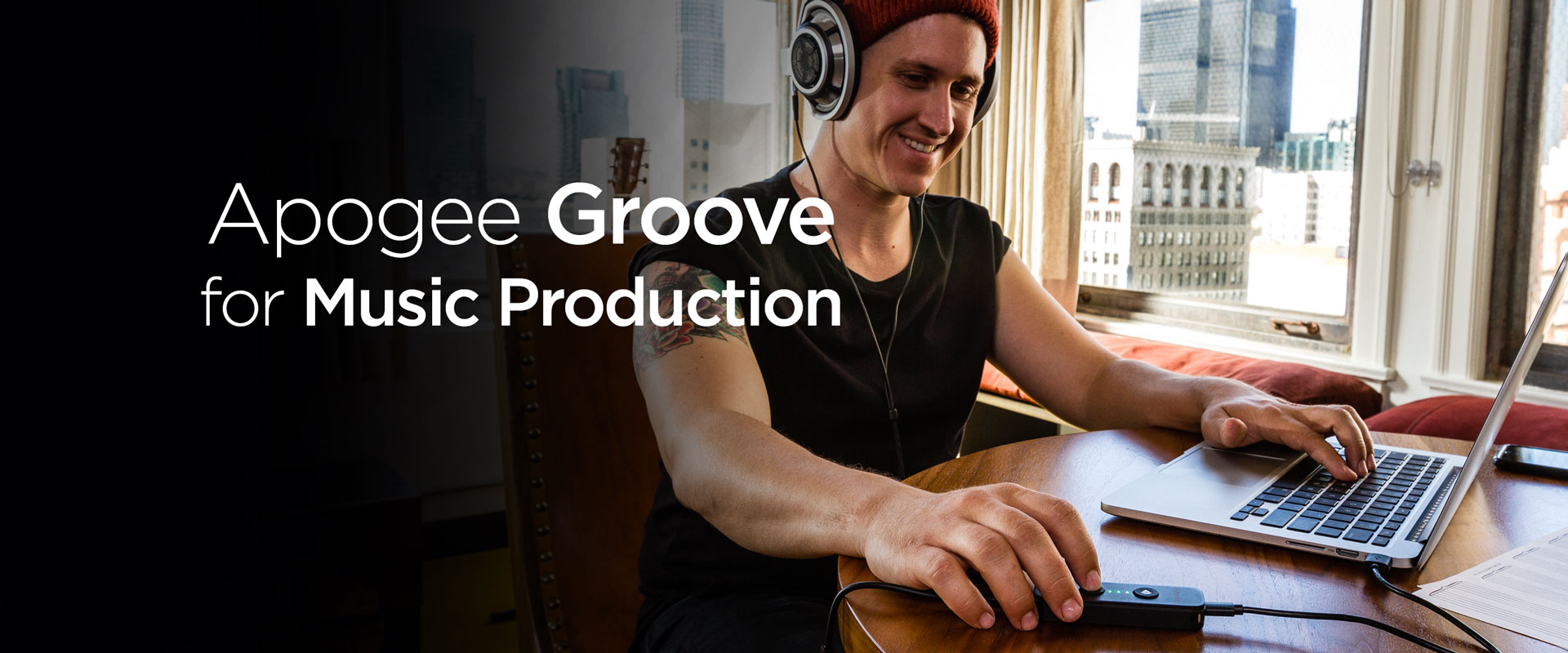 Apogee Groove for Music Production