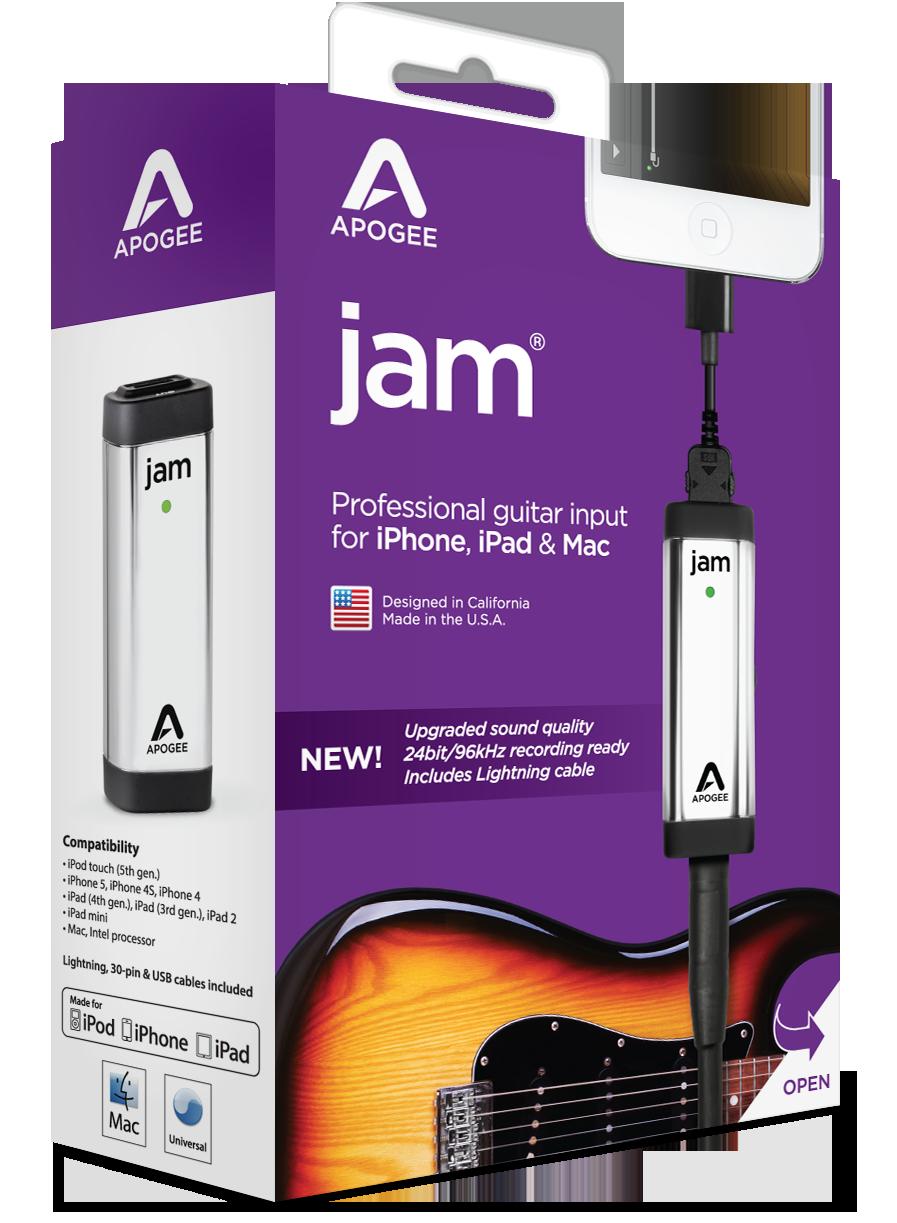 JAM 96k for iPad, iPhone and Mac