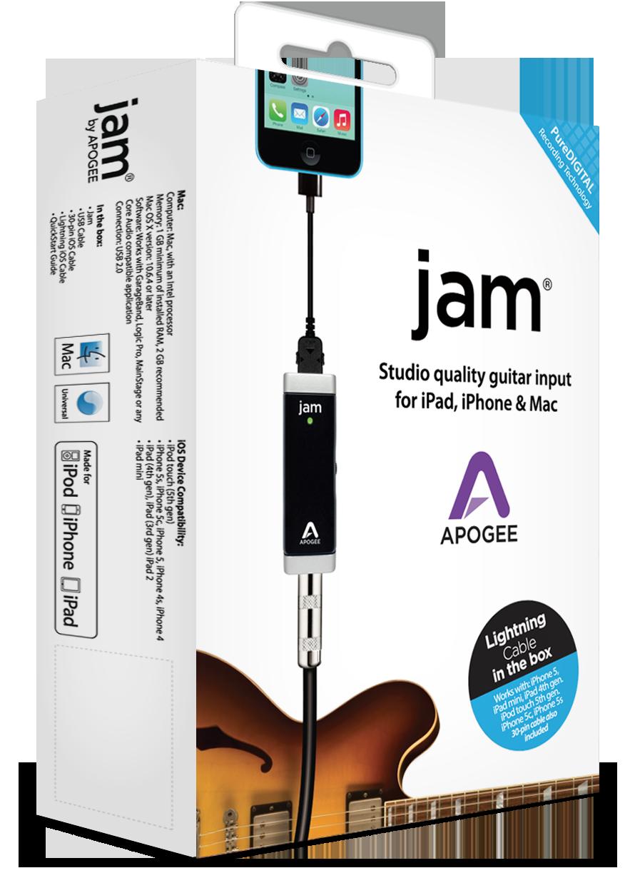 JAM for iPad, iPhone and Mac