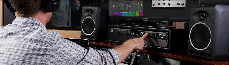 Studio and live recording