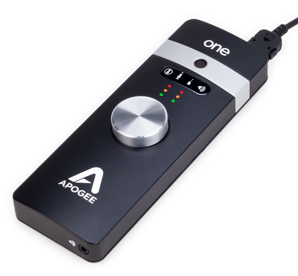 one usb audio interface microphone apogee electronics