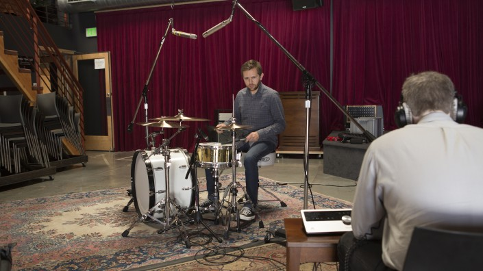 Recording Drums with Apogee Quartet and iPad