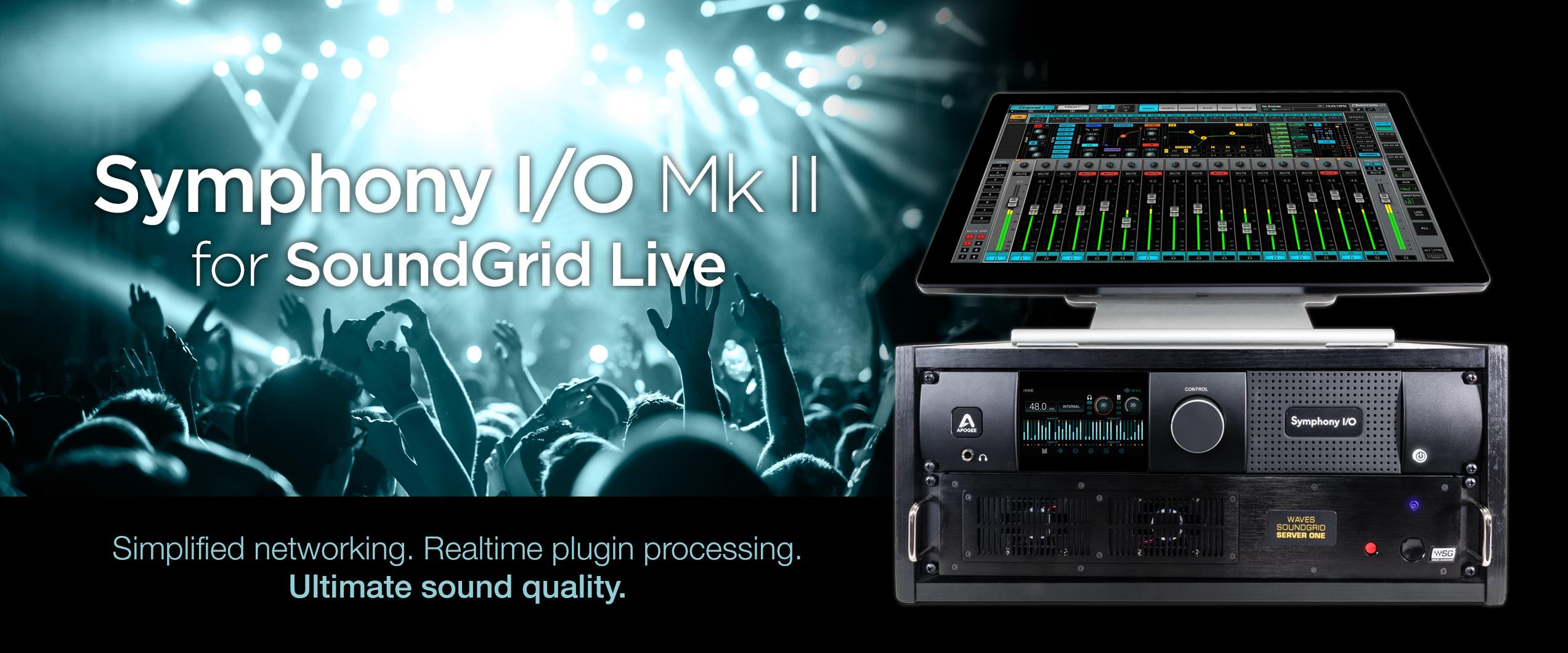 Symphony I/O Mk II - SoundGrid - Apogee Electronics