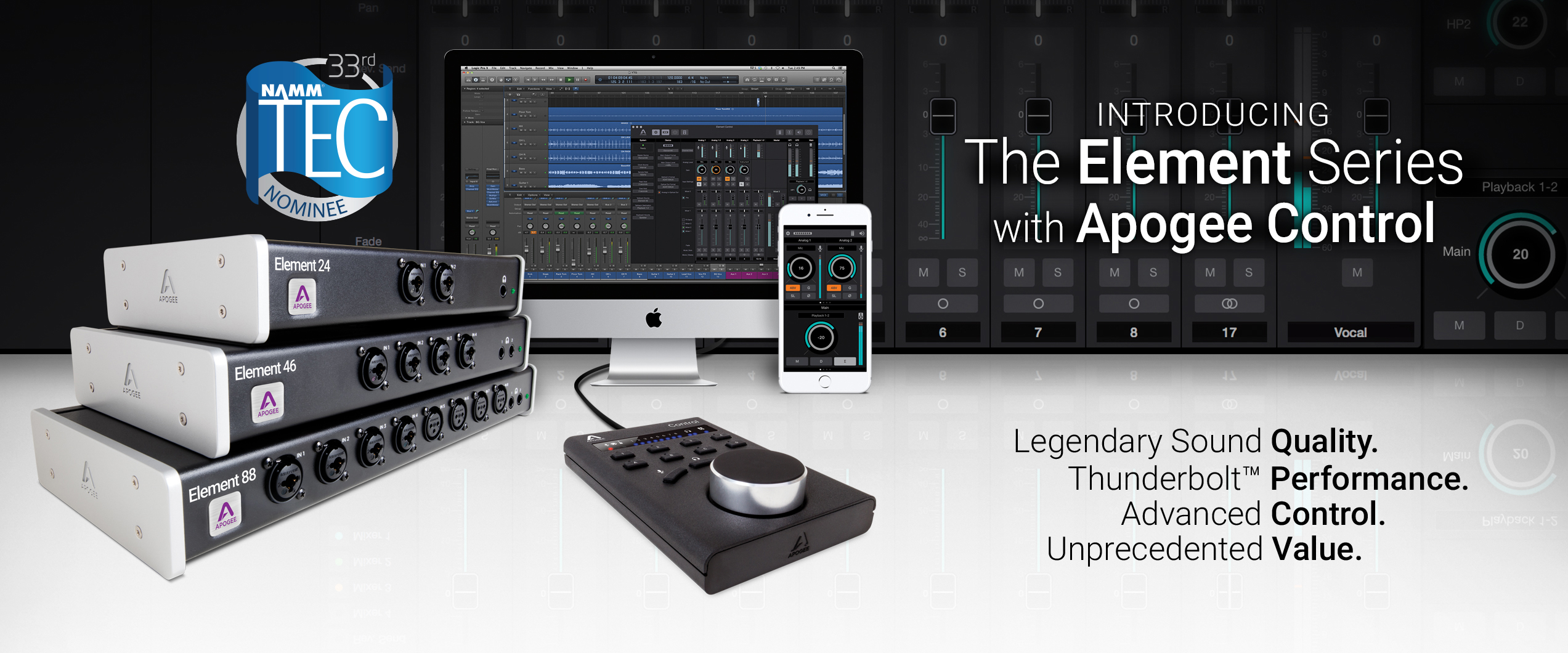 Introducing The Element Series with Apogee Control