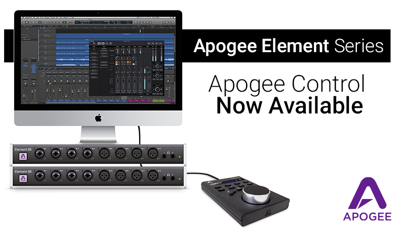 Apogee Control Hardware Remote for Element Series and Symphony I/O ...